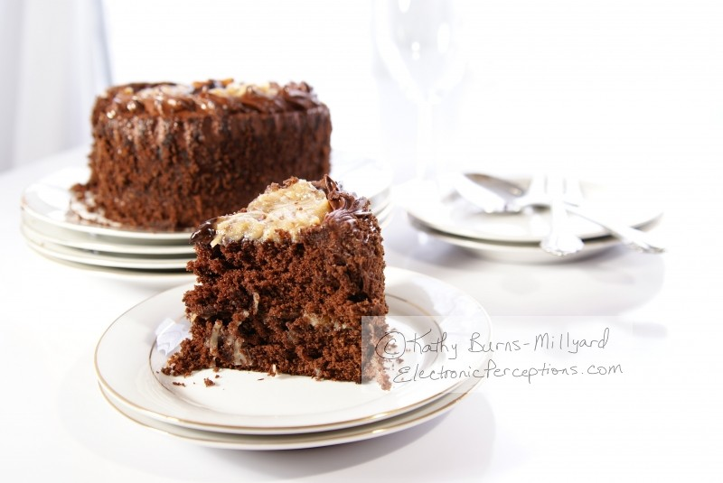 Stock Photo: Chocolate Cake - by Kathy Burns-Millyard