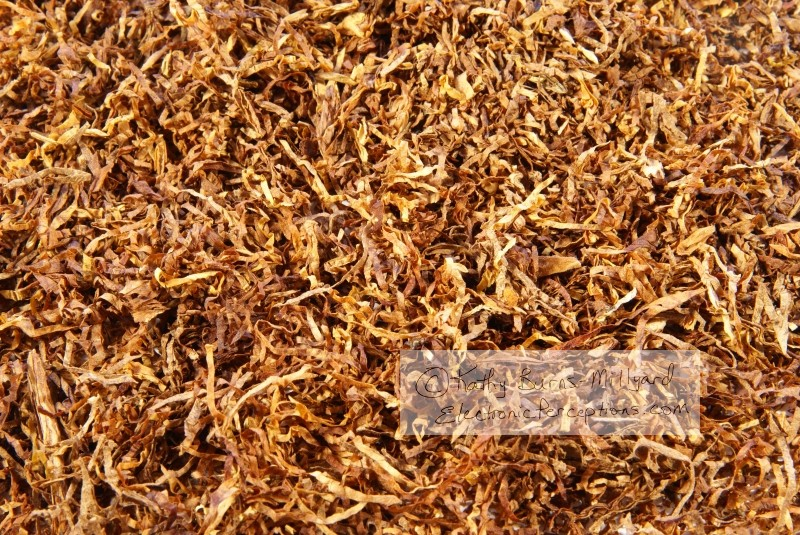 Health Stock Photo: Shredded Tobacco