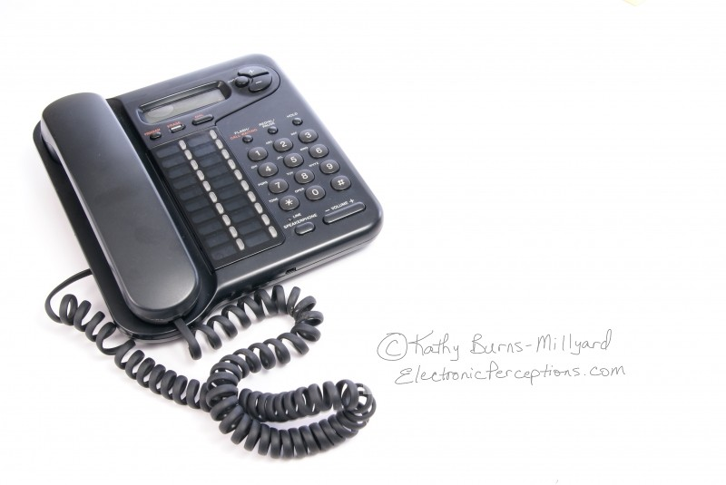 Stock Photo: Telephone - by Kathy Burns-Millyard