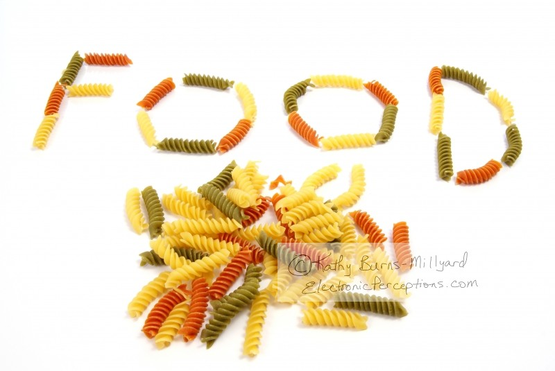 Stock Photo: Pasta Food - by Kathy Burns-Millyard