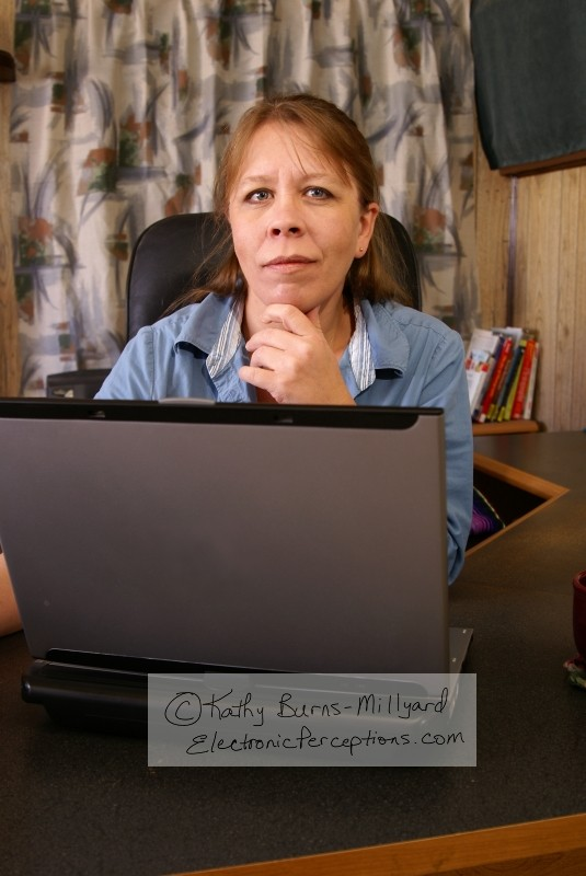 Stock Photo: Home Office - by Kathy Burns-Millyard