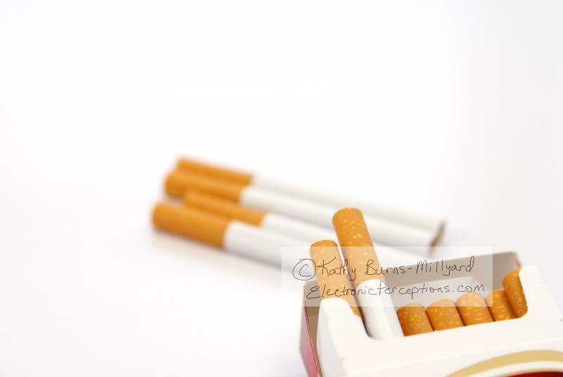 cigarettes Stock Photo: Cigarettes