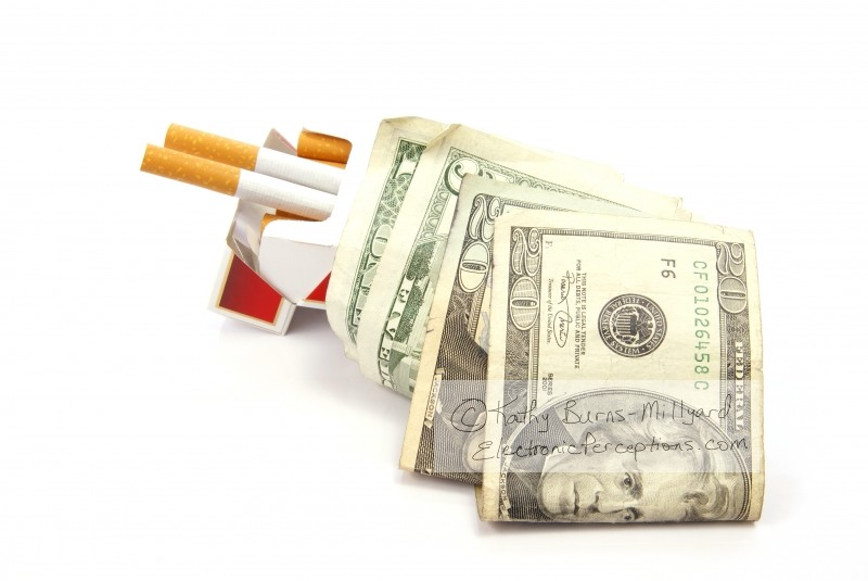 cigarettes Stock Photo: Healthcare Costs