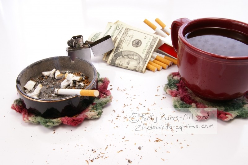 Stock Photo: Filthy Habits - by Kathy Burns-Millyard