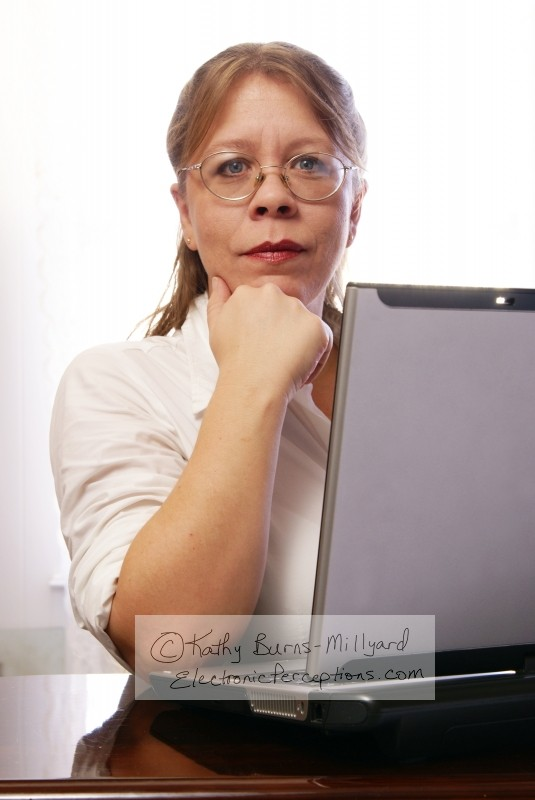 diversity Stock Photo: Woman with Eyeglasses