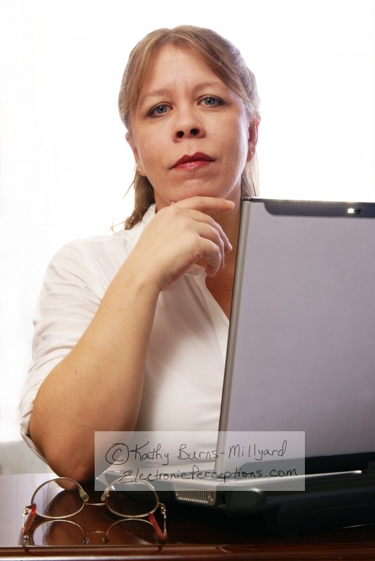 diversity Stock Photo: Woman with Laptop