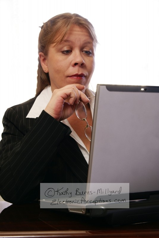 diversity Stock Photo: Professional Woman Raising Eyebrows