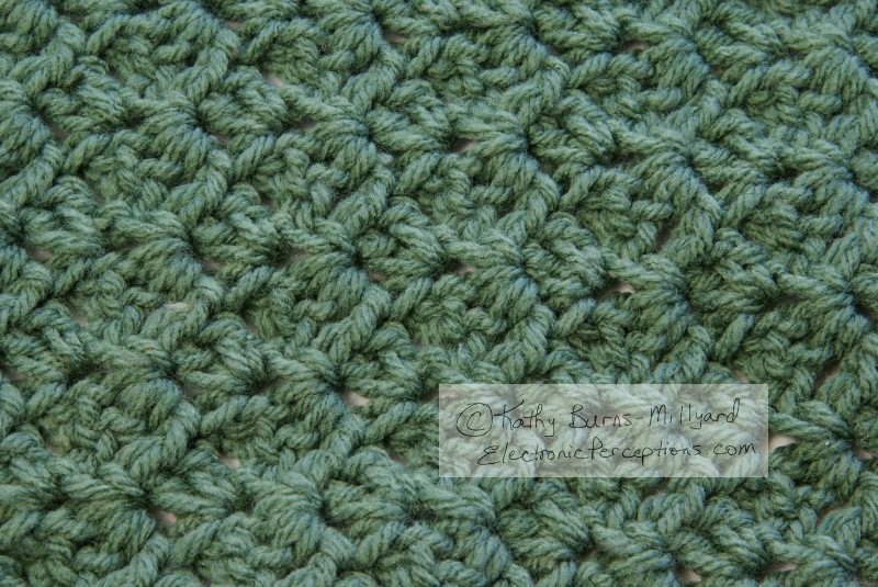 yarn Stock Photo: Crochet Texture
