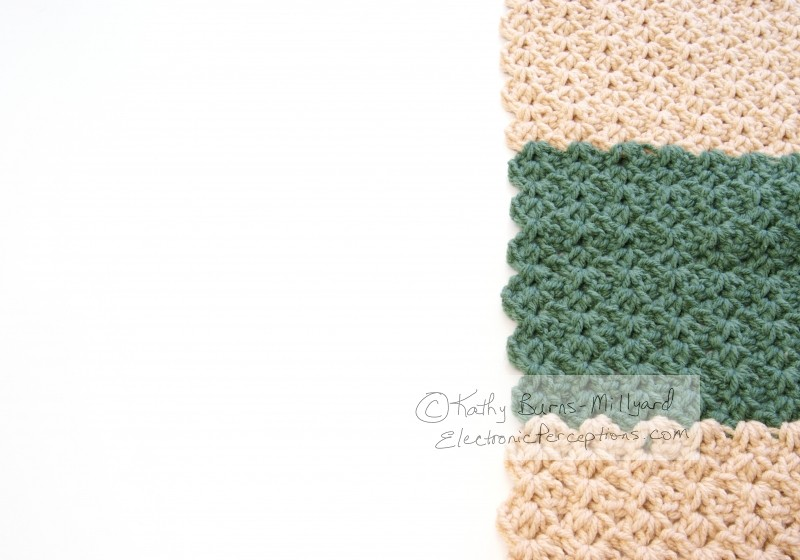 texture Stock Photo: Crochet Strip