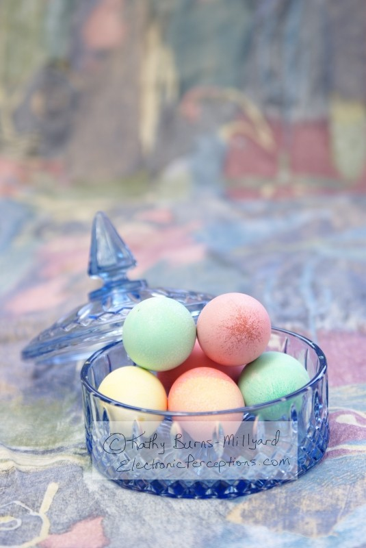 easter Stock Photo: Fancy Easter Eggs
