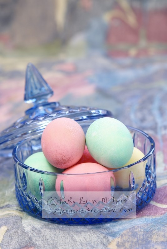 Stock Photo: Fancy Easter Eggs - by Kathy Burns-Millyard