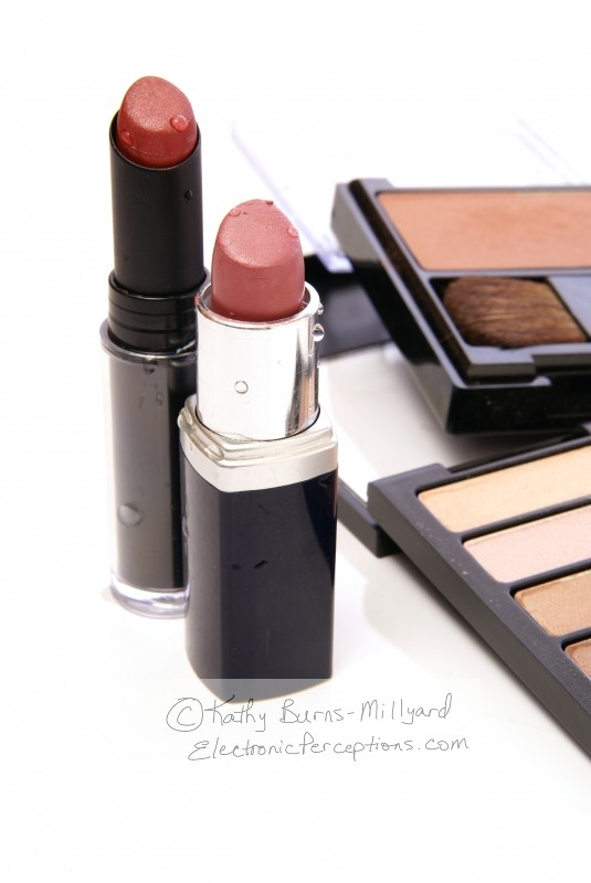 cosmetics Stock Photo: Moist Lipsticks Vertical