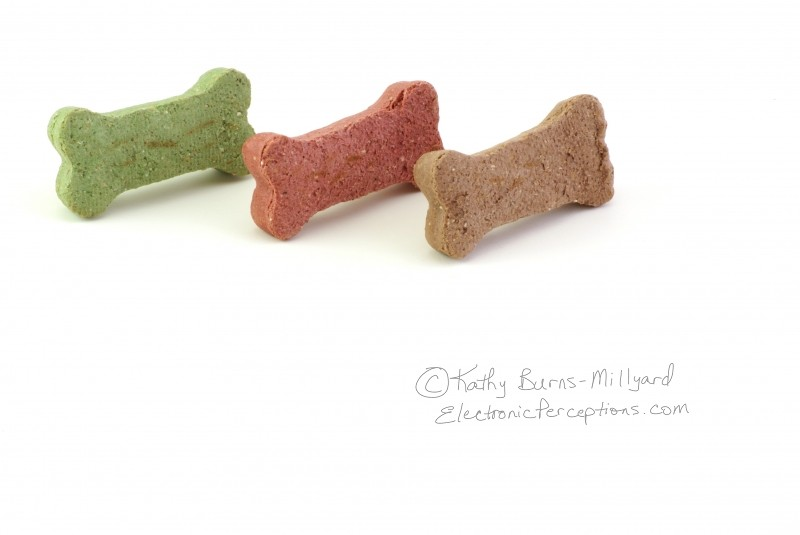 Stock Photo: Dog Biscuits - by Kathy Burns-Millyard