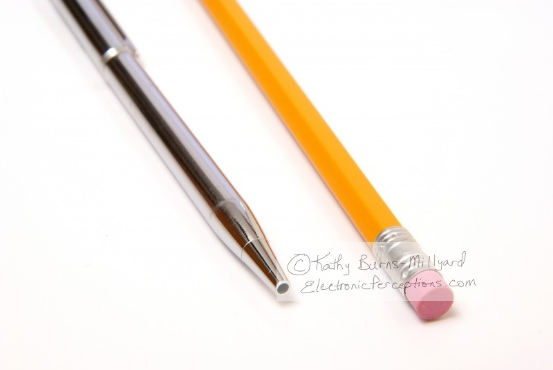 ballpoint Stock Photo: Pen and Pencil