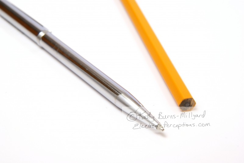 Stock Photo: Pen and Pencil - by Kathy Burns-Millyard
