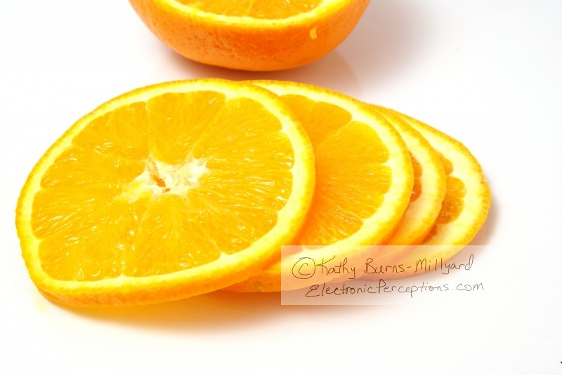 Health Stock Photo: Sliced Orange