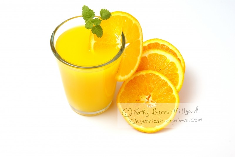 Health Stock Photo: Orange Juice
