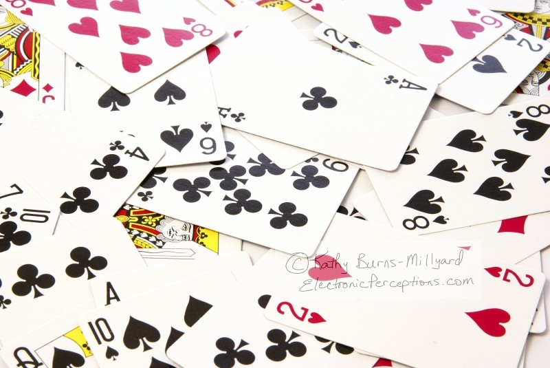 entertainment Stock Photo: Playing Cards Background