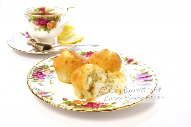 flower Stock Photo: Breakfast Muffins