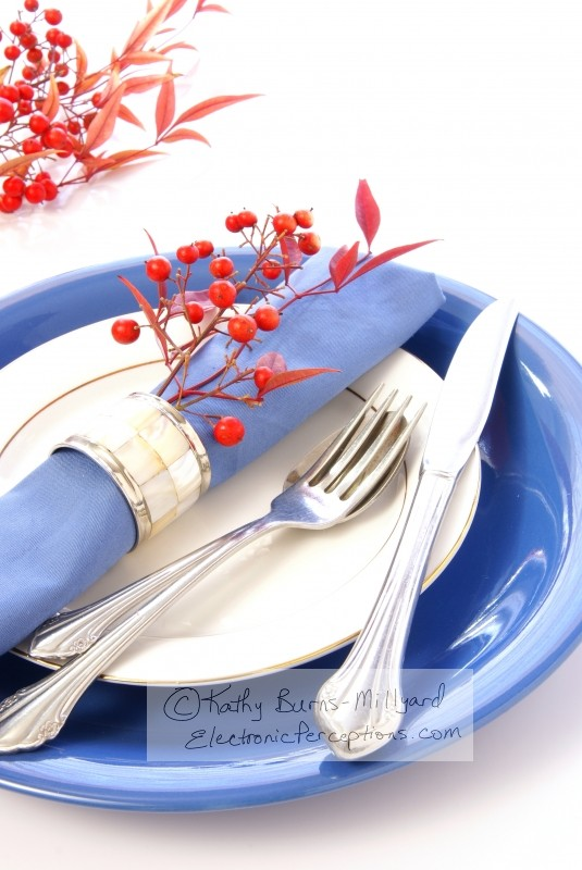 Stock Photo: Table Setting - by Kathy Burns-Millyard