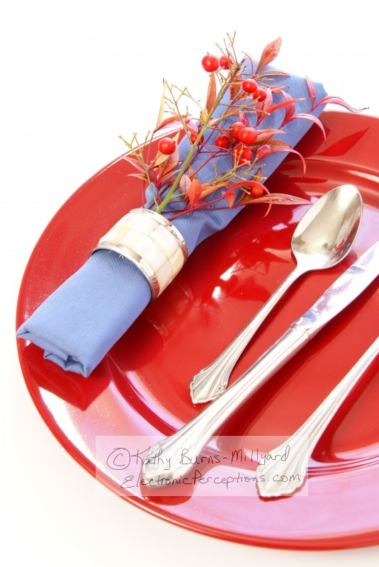 ring Stock Photo: Table Setting