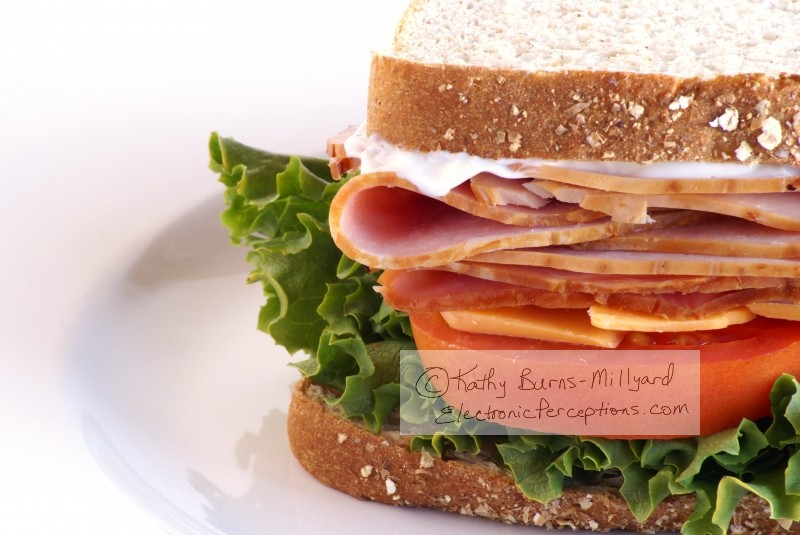 Stock Photo: Healthy Sandwich - by Kathy Burns-Millyard
