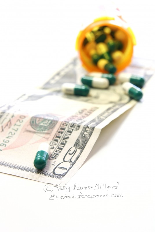 dollars Stock Photo: Healthcare Costs