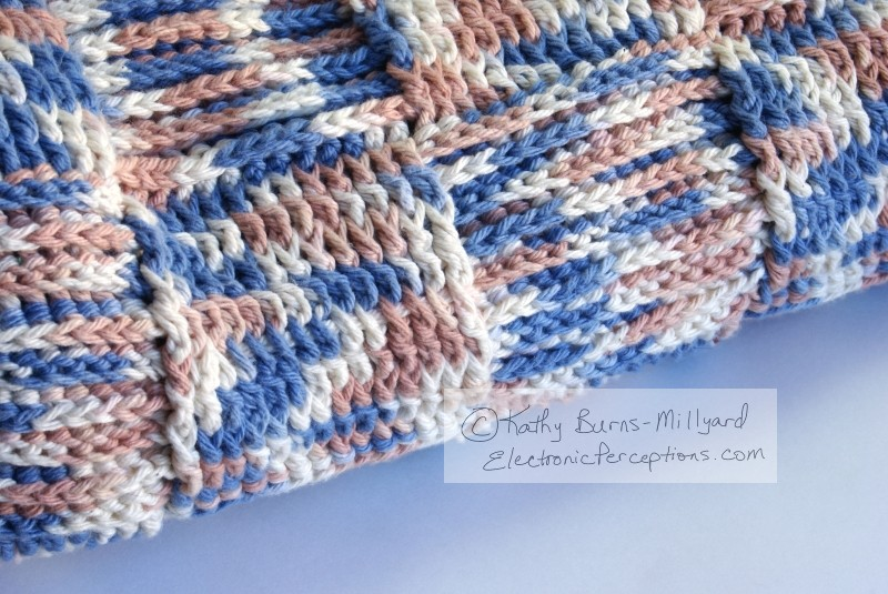 crochet Stock Photo: Crochet Blanket