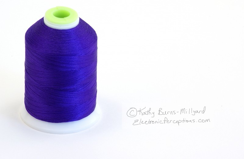 Stock Photo: Spool of Thread - by Kathy Burns-Millyard