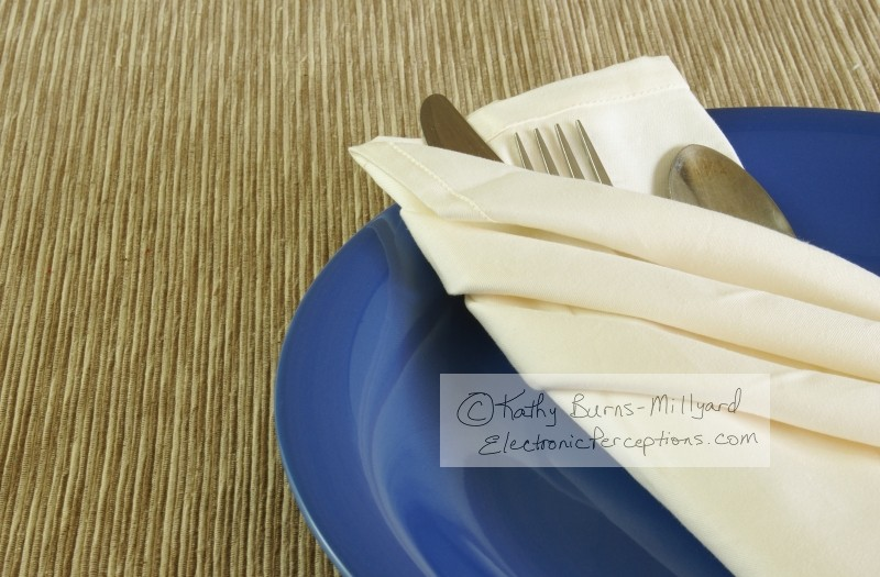 weave Stock Photo: Fancy Table Setting