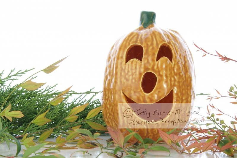ceramic Stock Photo: Halloween Decor
