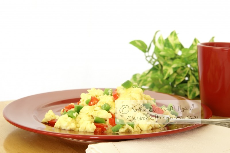 bell Stock Photo: Fluffy Scrambled Eggs