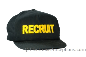 fabric Stock Photo: Recruit Ballcap
