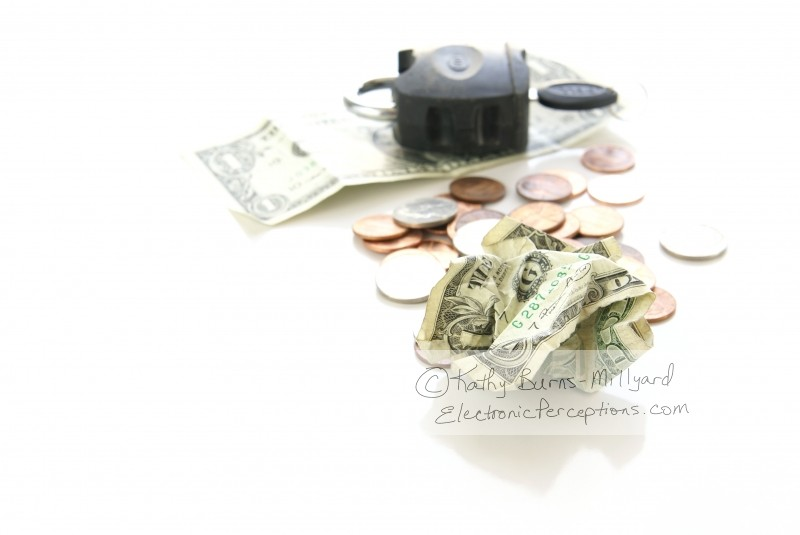 Stock Photo: Financial Crisis Concept - by Kathy Burns-Millyard