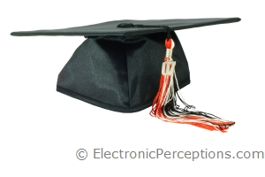 achievement Stock Photo: Graduation Cap and Tassel