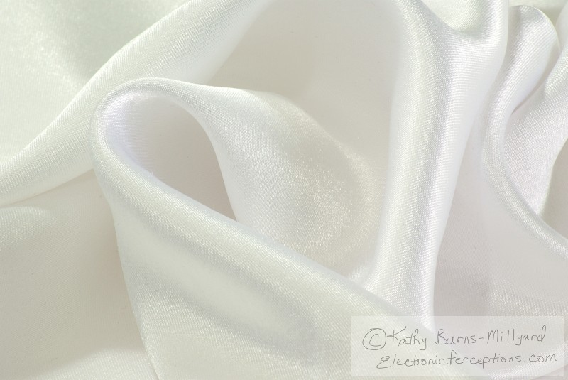 Stock Photo: Satin Swirl - by Kathy Burns-Millyard
