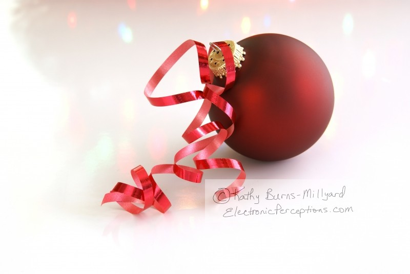 Stock Photo: Christmas Decoration - by Kathy Burns-Millyard