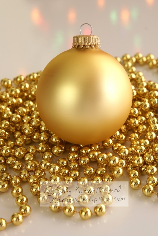 blurred Stock Photo: Gold Ornament