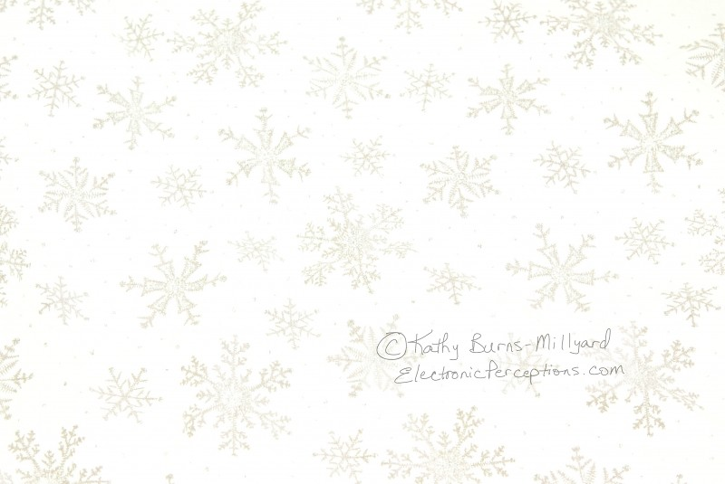 Stock Photo: Snowflake Background - by Kathy Burns-Millyard