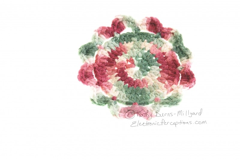 Stock Photo: Crocheted Coaster - by Kathy Burns-Millyard