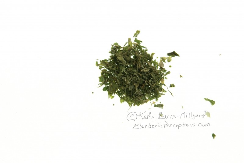 flavor Stock Photo: Dried Parsley