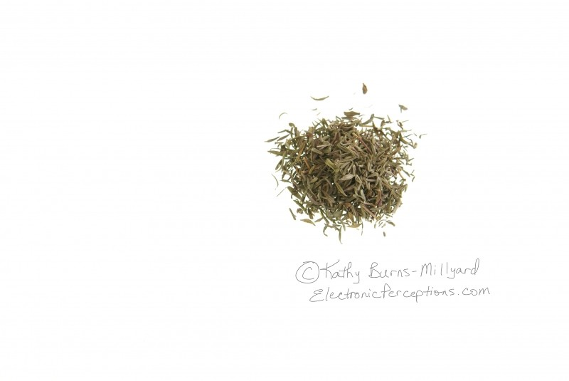 flavor Stock Photo: Dried Thyme