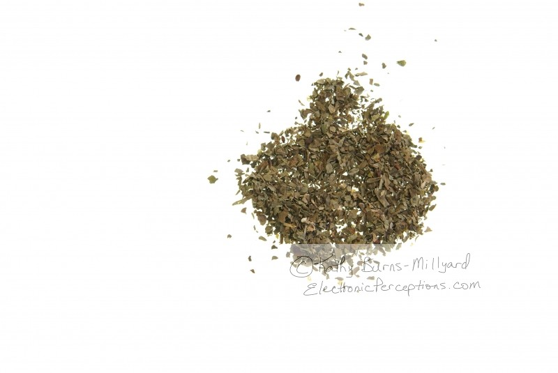 basil Stock Photo: Dried Basil