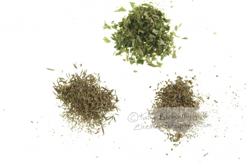Stock Photo: Dried Herbs - by Kathy Burns-Millyard