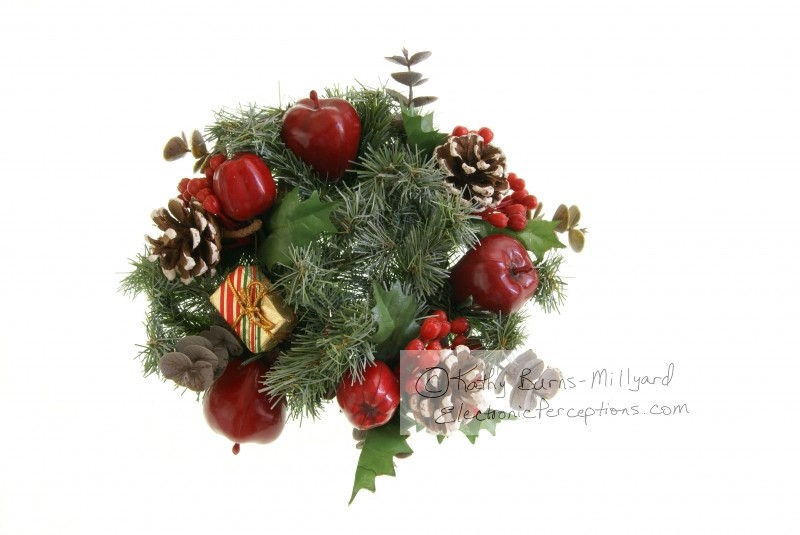 berries Stock Photo: Christmas Greenery