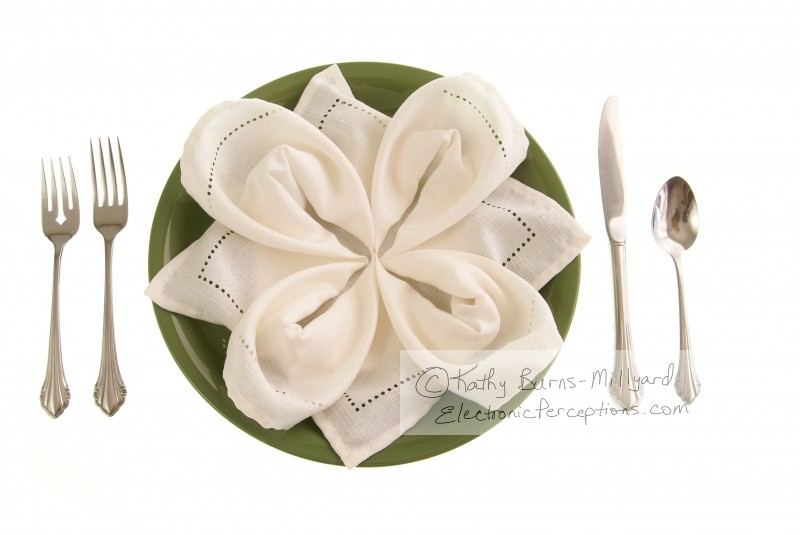 Stock Photo: Elegant Table Setting - by Kathy Burns-Millyard