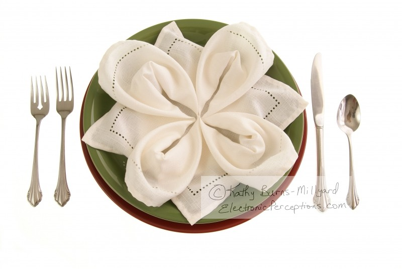 petal Stock Photo: Elegant Table Setting