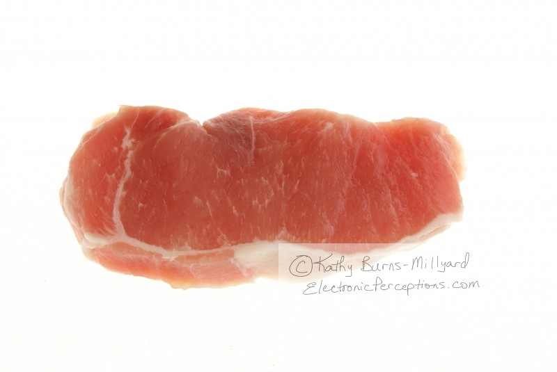chop Stock Photo: Boneless Pork Steak