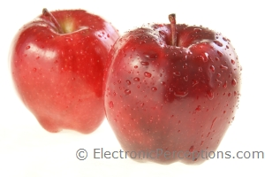 Stock Photo: Fresh Red Apples - by Kathy Burns-Millyard
