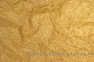 Stock Photo: Crumpled Paper Background - by Kathy Burns-Millyard